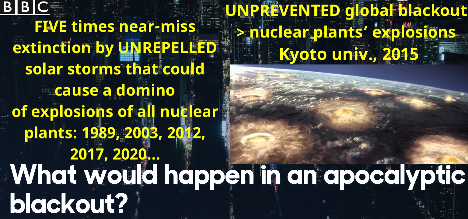 Global Blackout and all nukes' explosion PREVENTION!